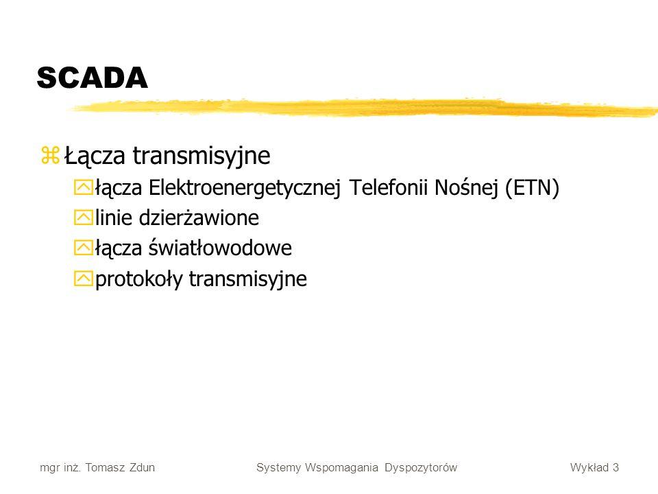 SCADA Łącza transmisyjne