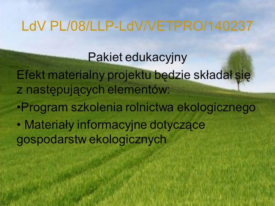 LdV PL/08/LLP-LdV/VETPRO/140237