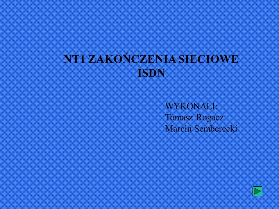 NT1 ZAKOŃCZENIA SIECIOWE