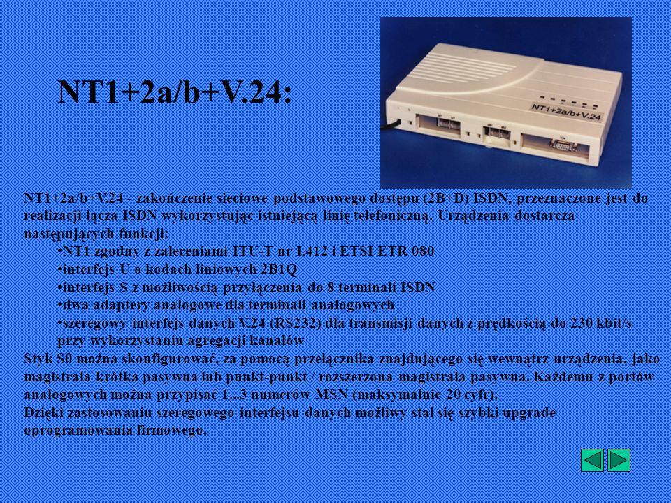NT1+2a/b+V.24: