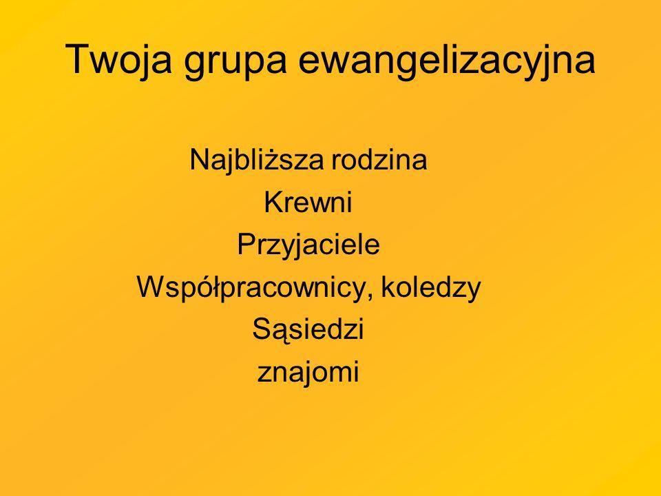 Twoja grupa ewangelizacyjna