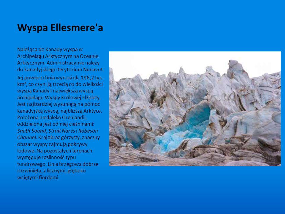 Wyspa Ellesmere a