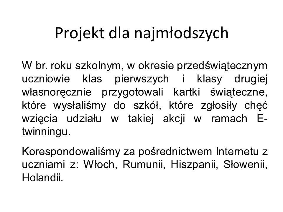 Projekt dla najmłodszych