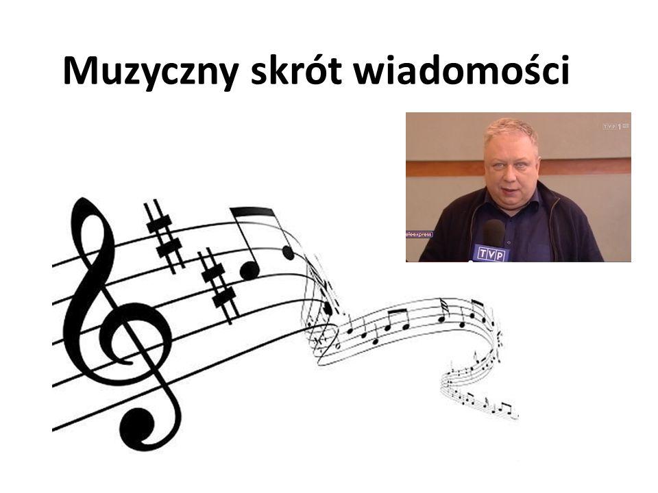 Muzyczny skrót wiadomości