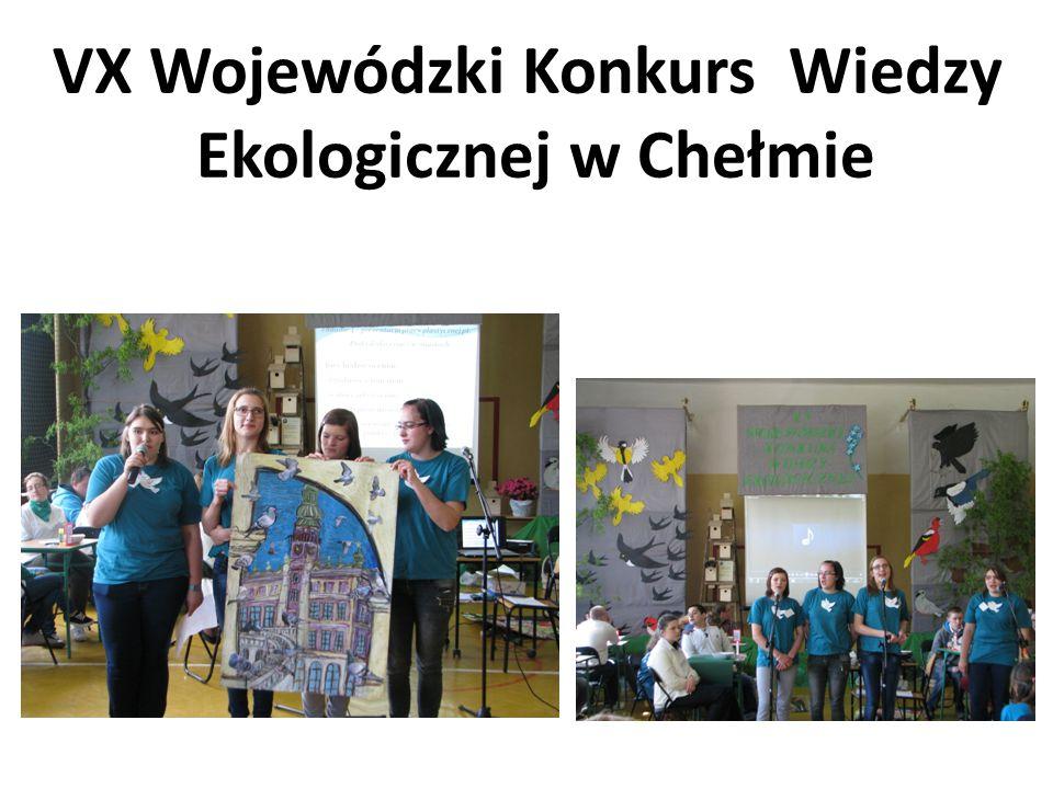 VX Wojewódzki Konkurs Wiedzy Ekologicznej w Chełmie