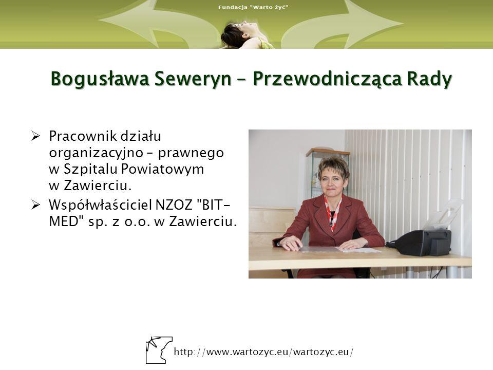 Bogusława Seweryn – Przewodnicząca Rady