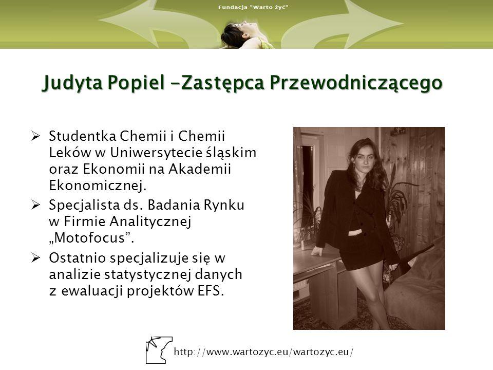 Judyta Popiel -Zastępca Przewodniczącego