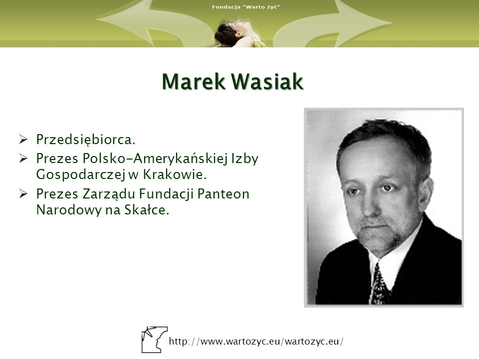 Marek Wasiak Przedsiębiorca.