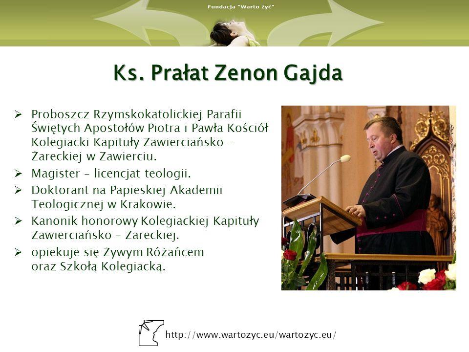 Ks. Prałat Zenon Gajda