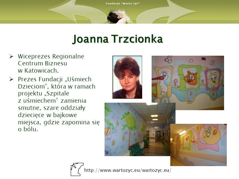 Joanna Trzcionka Wiceprezes Regionalne Centrum Biznesu w Katowicach.