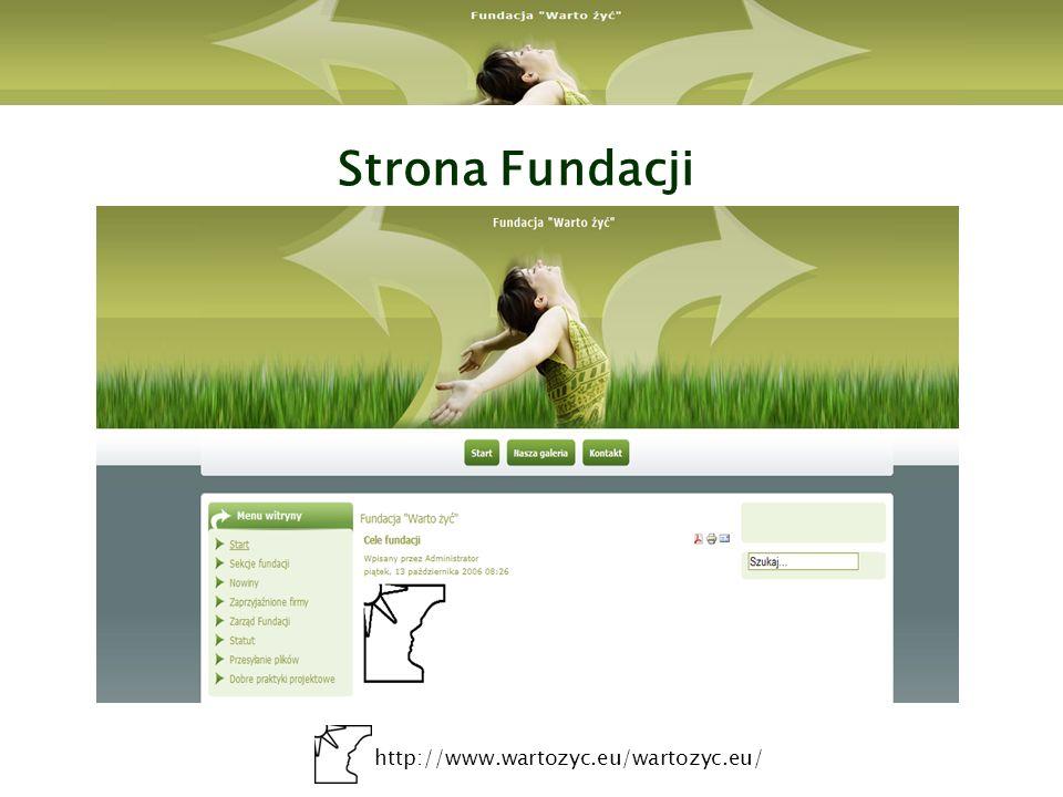 Strona Fundacji