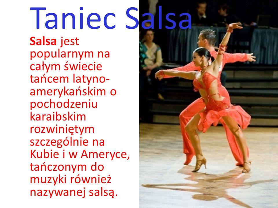 Taniec Salsa