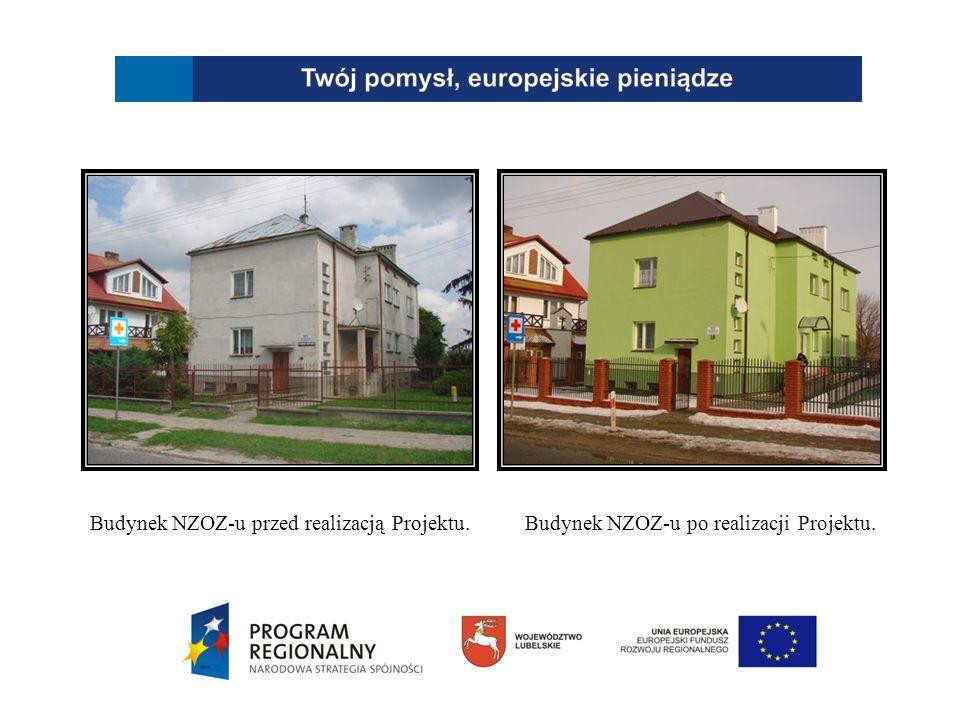 Budynek NZOZ-u przed realizacją Projektu.