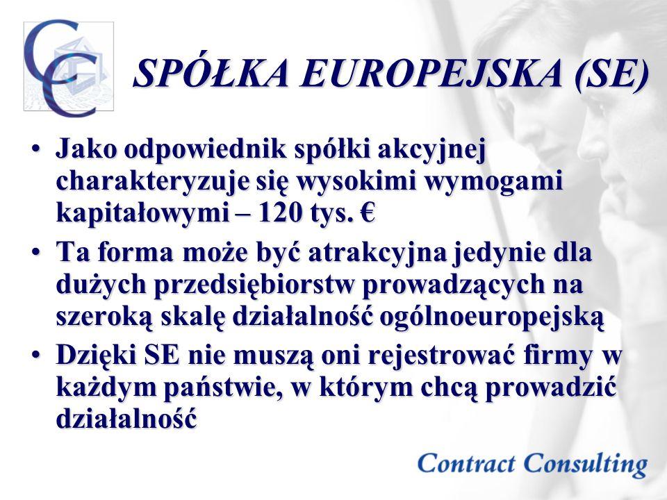 SPÓŁKA EUROPEJSKA (SE)