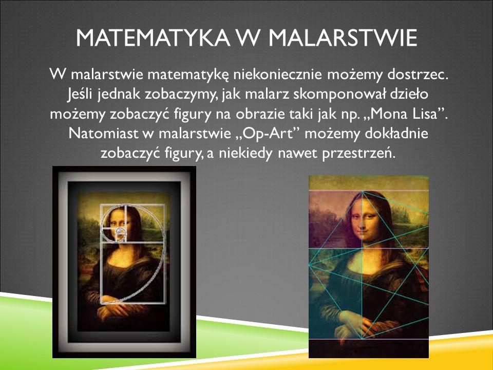Matematyka w malarstwie