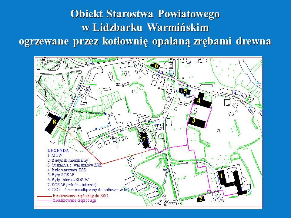 Obiekt Starostwa Powiatowego w Lidzbarku Warmińskim