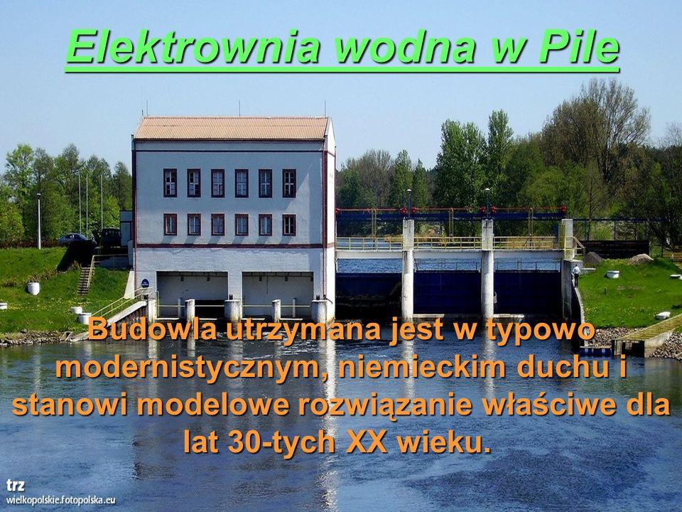 Elektrownia wodna w Pile