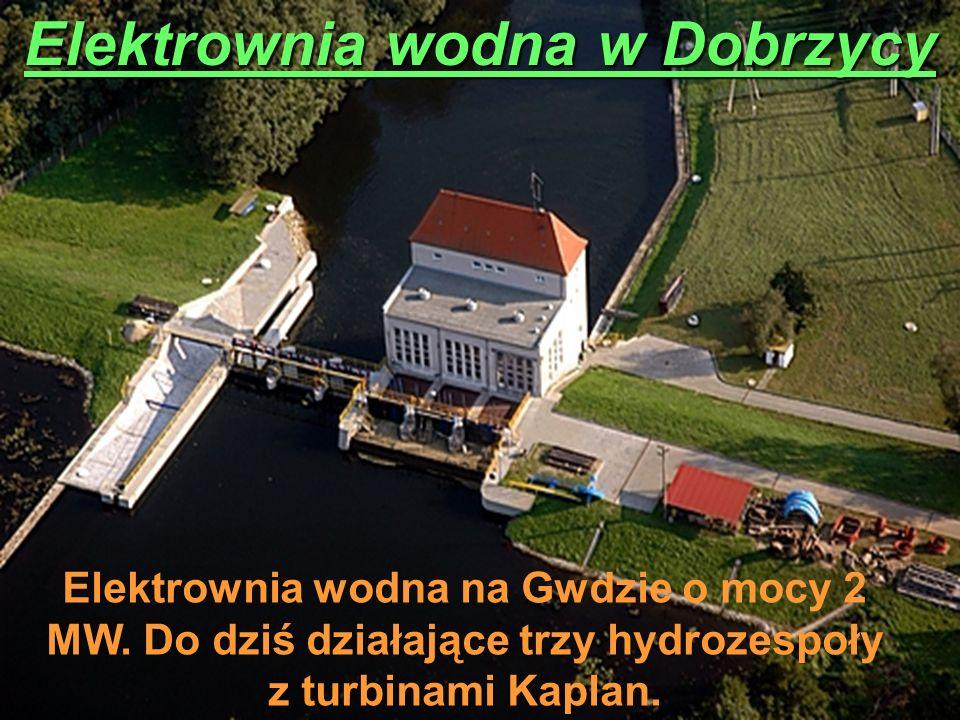 Elektrownia wodna w Dobrzycy