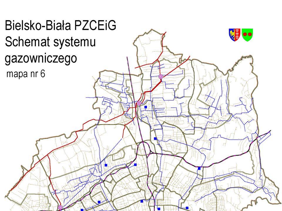 Schemat systemu gazowniczego