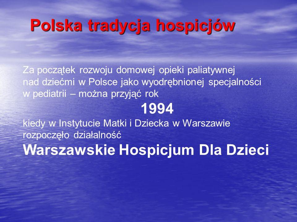 Polska tradycja hospicjów