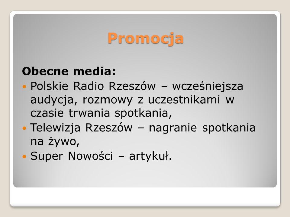 Promocja Obecne media: