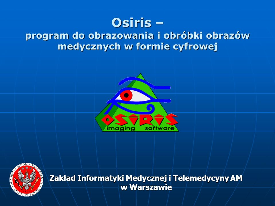 Zakład Informatyki Medycznej i Telemedycyny AM