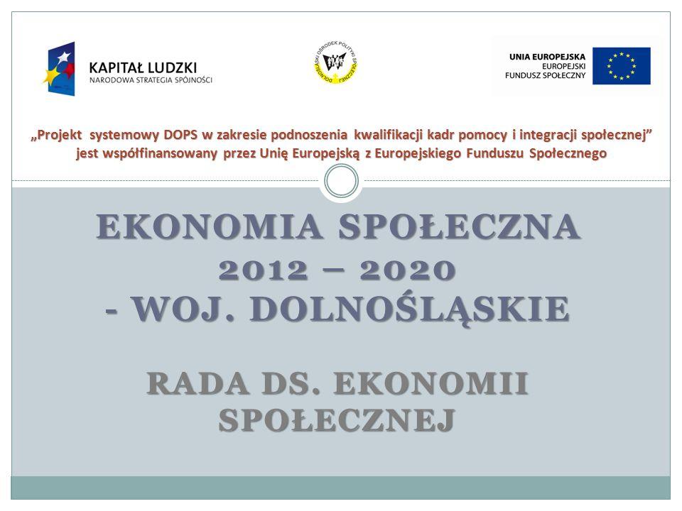 """""""Projekt systemowy DOPS w zakresie podnoszenia kwalifikacji kadr pomocy i integracji społecznej jest współfinansowany przez Unię Europejską z Europejskiego Funduszu Społecznego"""