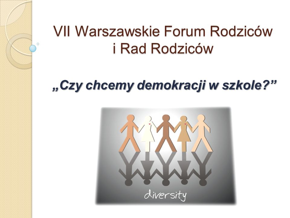 VII Warszawskie Forum Rodziców i Rad Rodziców