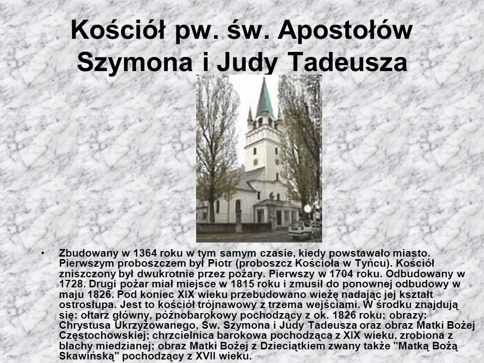 Kościół pw. św. Apostołów Szymona i Judy Tadeusza