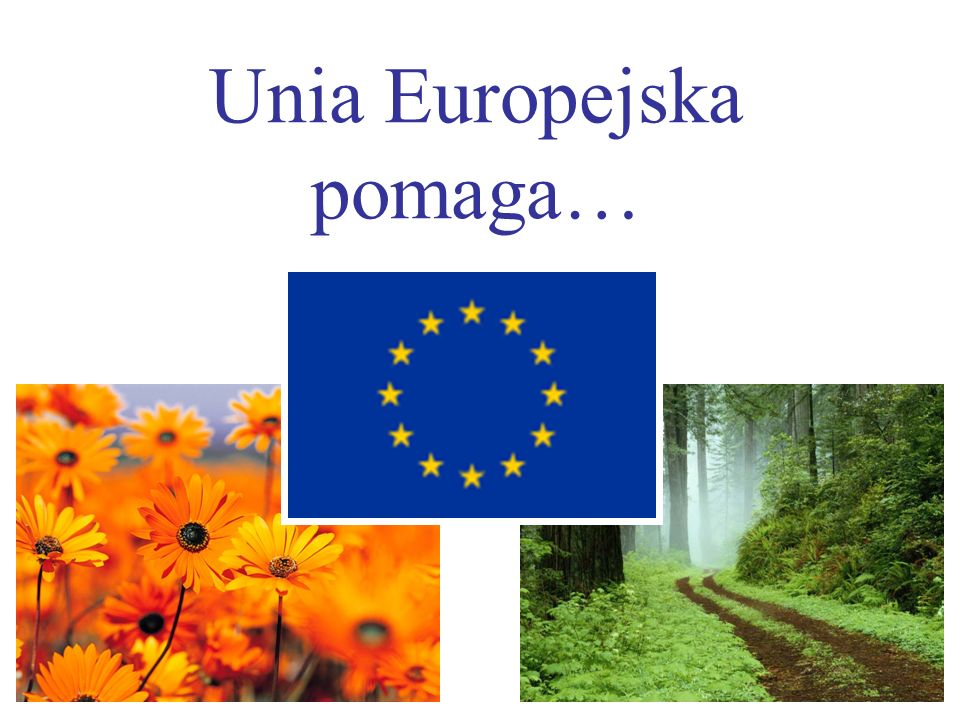 Unia Europejska pomaga…