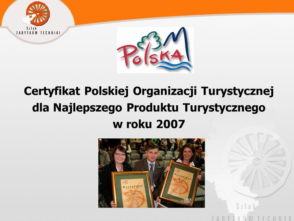 Certyfikat Polskiej Organizacji Turystycznej