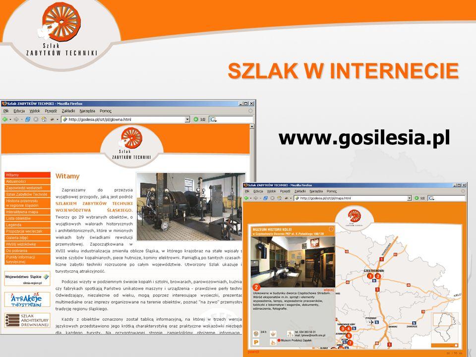 SZLAK W INTERNECIE www.gosilesia.pl