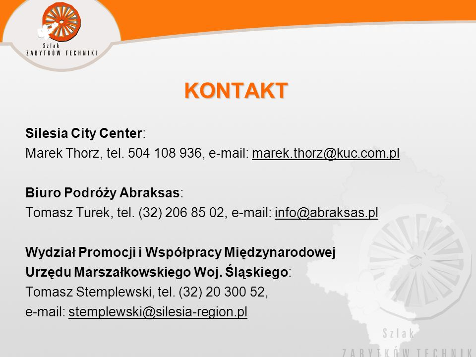 KONTAKT Silesia City Center:
