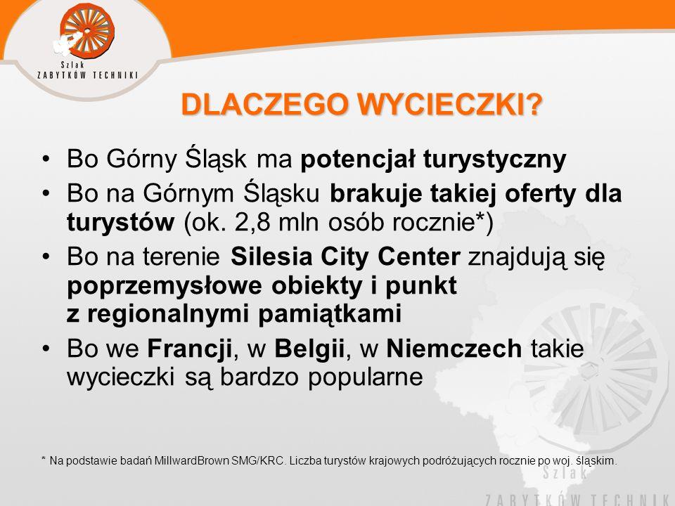 DLACZEGO WYCIECZKI Bo Górny Śląsk ma potencjał turystyczny