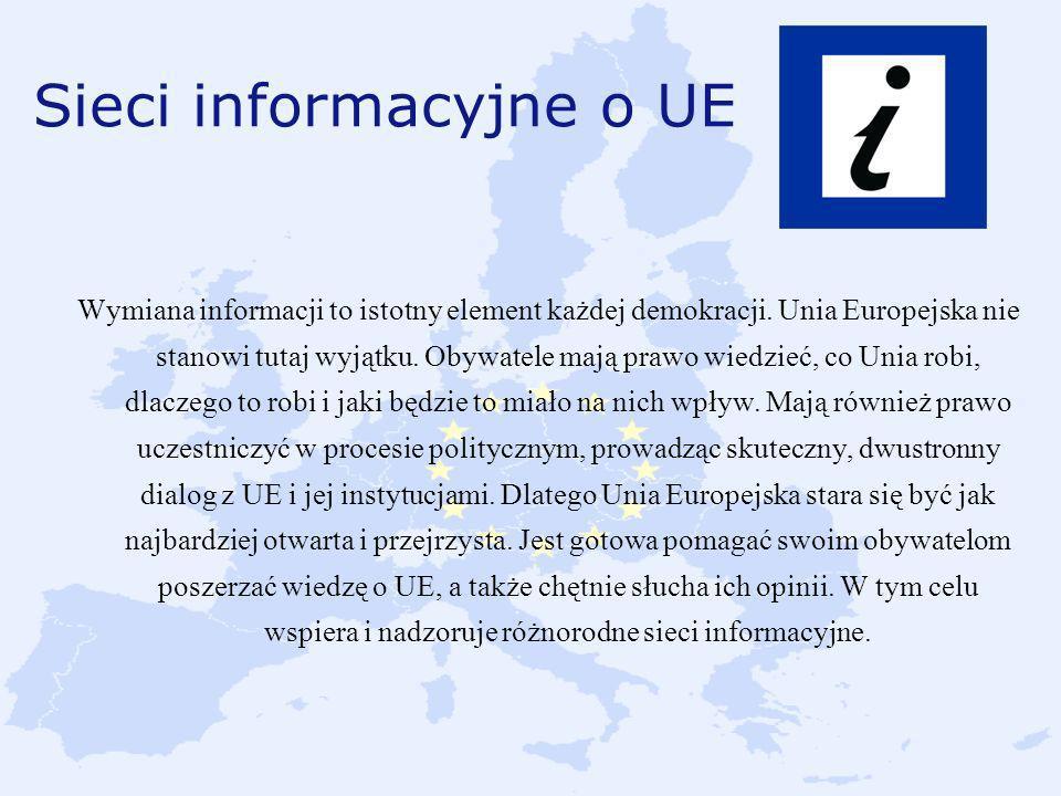 Sieci informacyjne o UE
