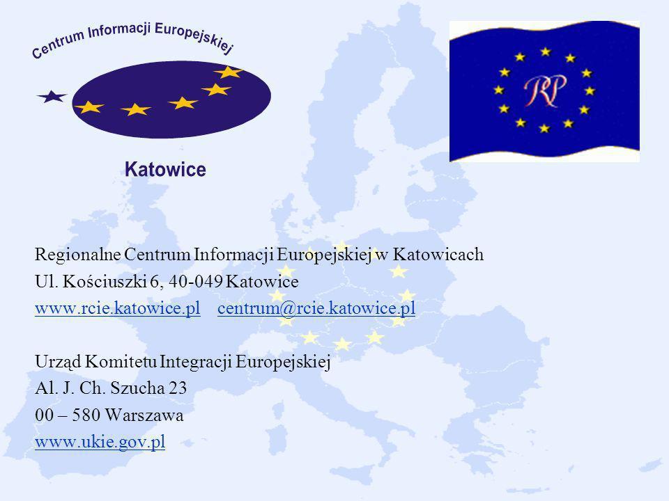 Regionalne Centrum Informacji Europejskiej w Katowicach