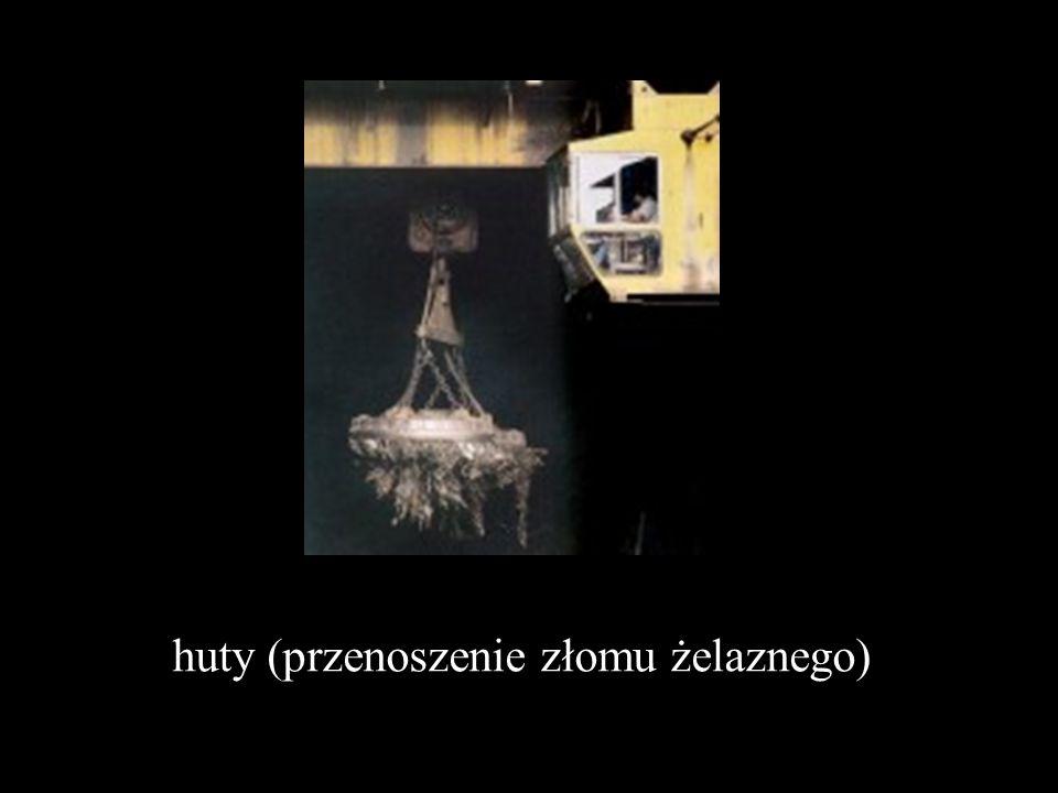 huty (przenoszenie złomu żelaznego)