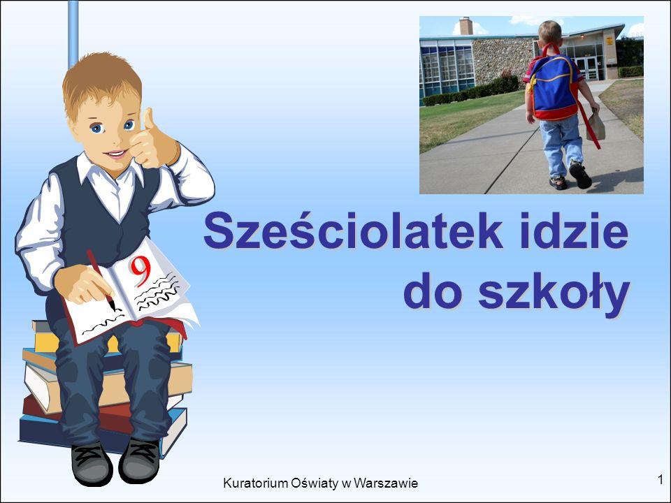 Sześciolatek idzie do szkoły