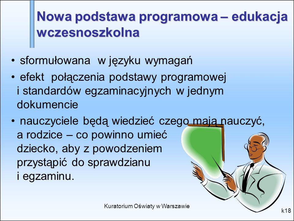 Nowa podstawa programowa – edukacja wczesnoszkolna