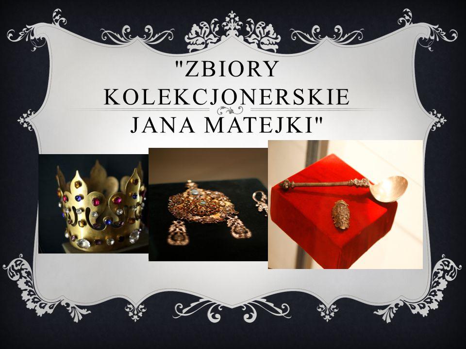 Zbiory kolekcjonerskie Jana Matejki