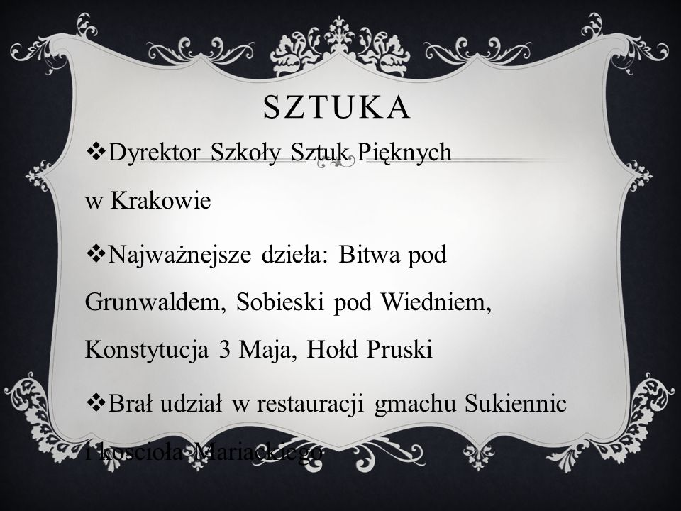 Sztuka Dyrektor Szkoły Sztuk Pięknych w Krakowie