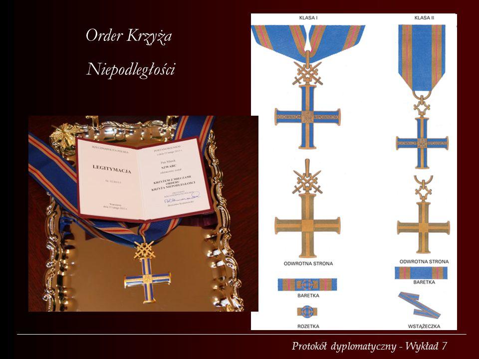 Order Krzyża Niepodległości