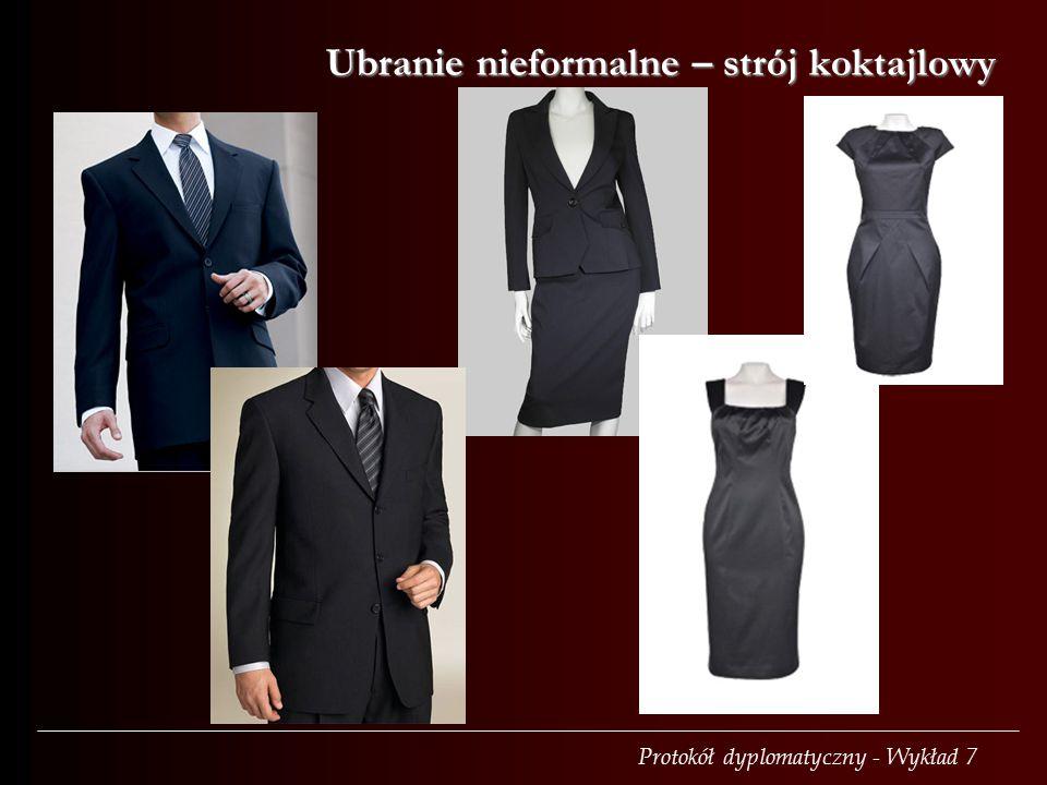 Ubranie nieformalne – strój koktajlowy
