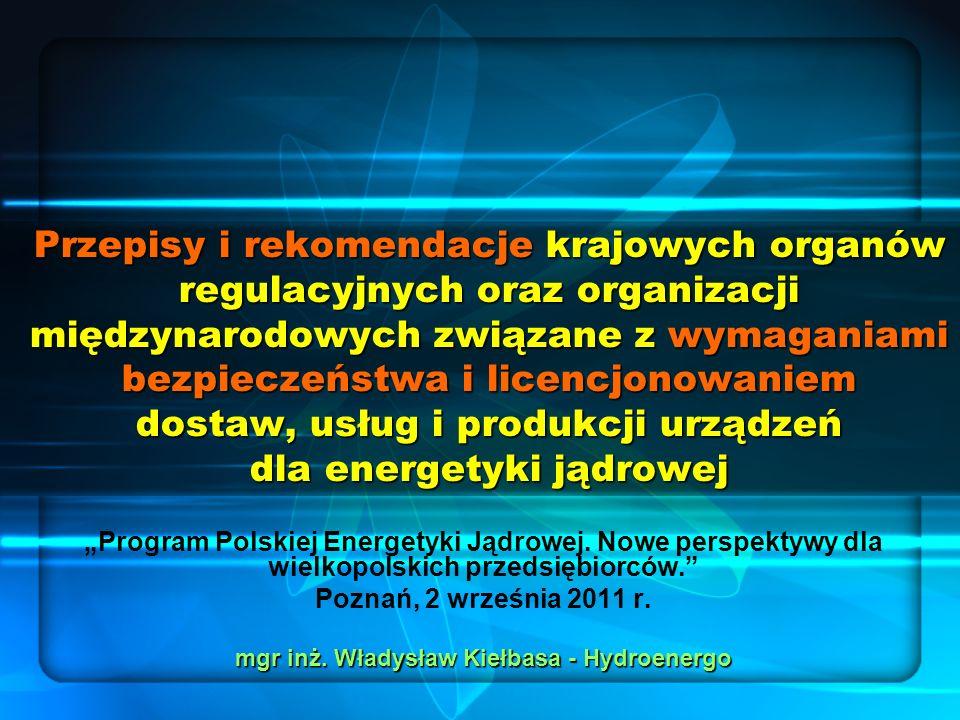 mgr inż. Władysław Kiełbasa - Hydroenergo