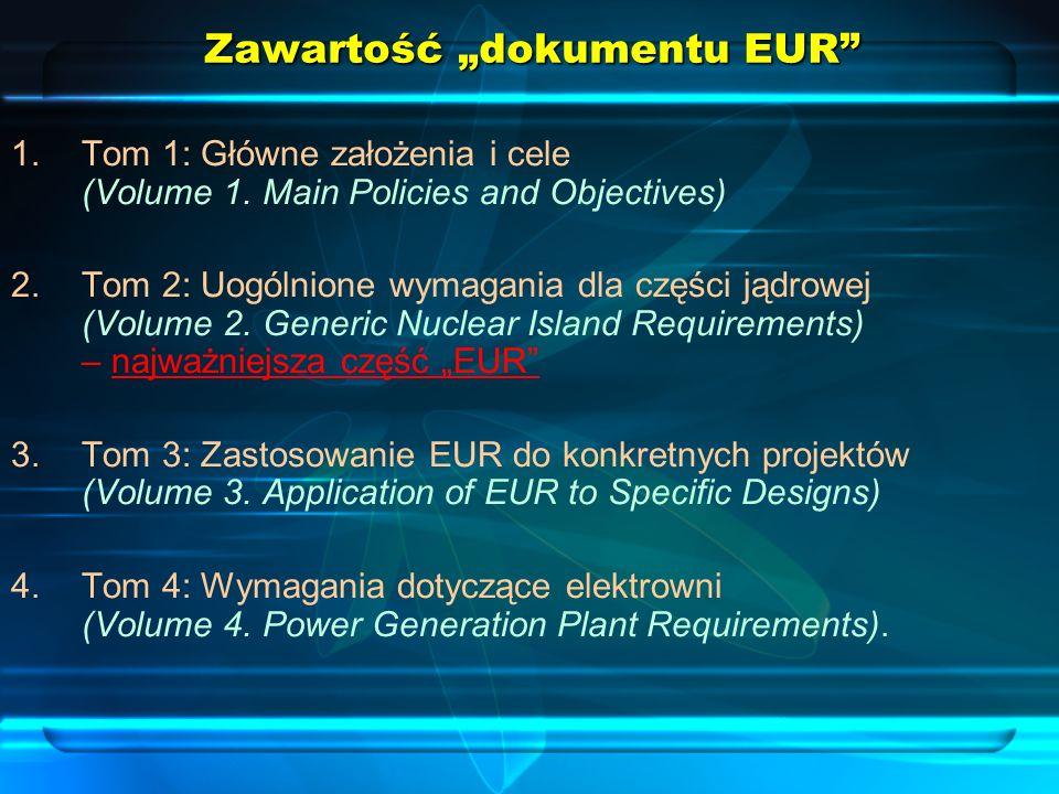 "Zawartość ""dokumentu EUR"