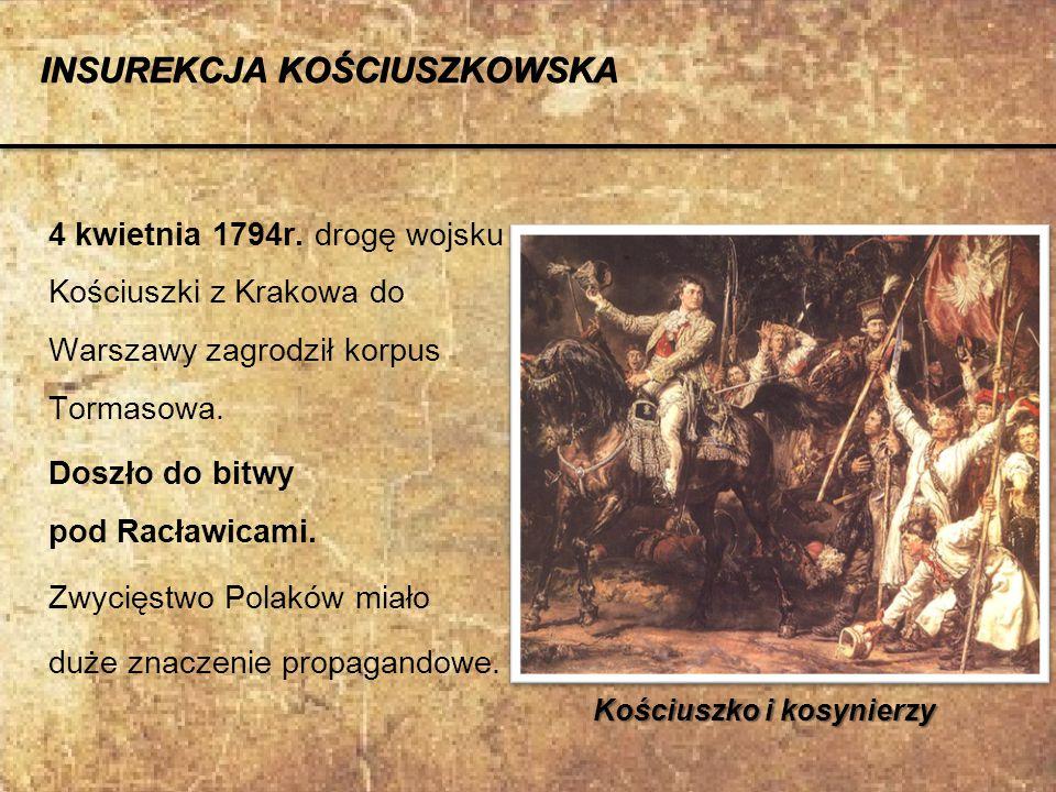Kościuszko i kosynierzy