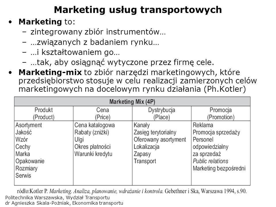 Marketing usług transportowych