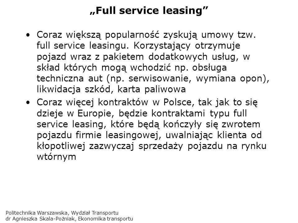 """Full service leasing"