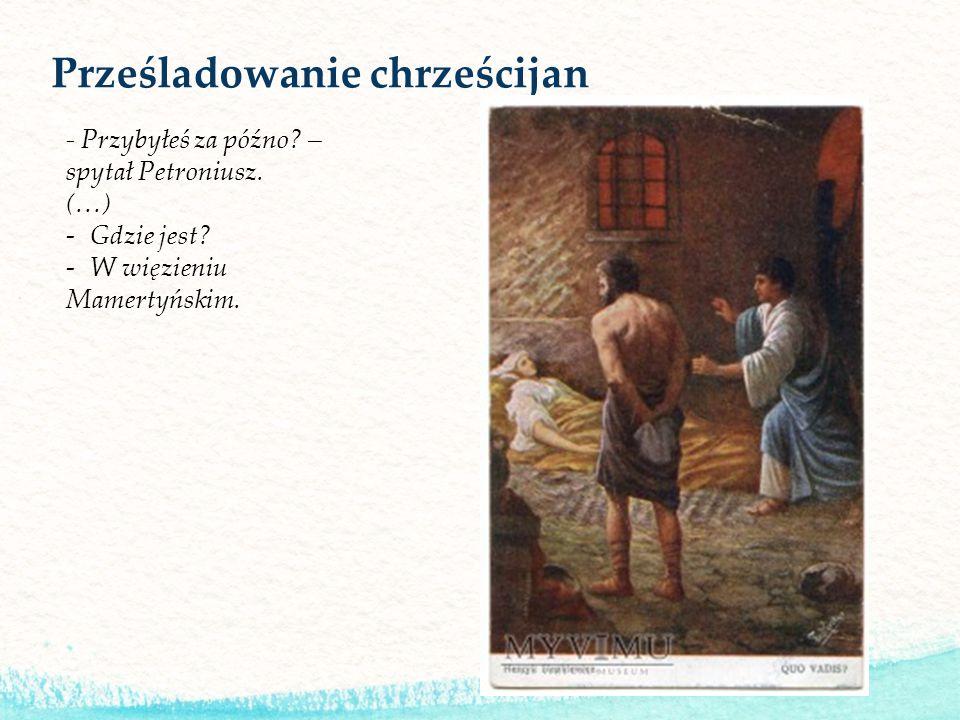 Prześladowanie chrześcijan