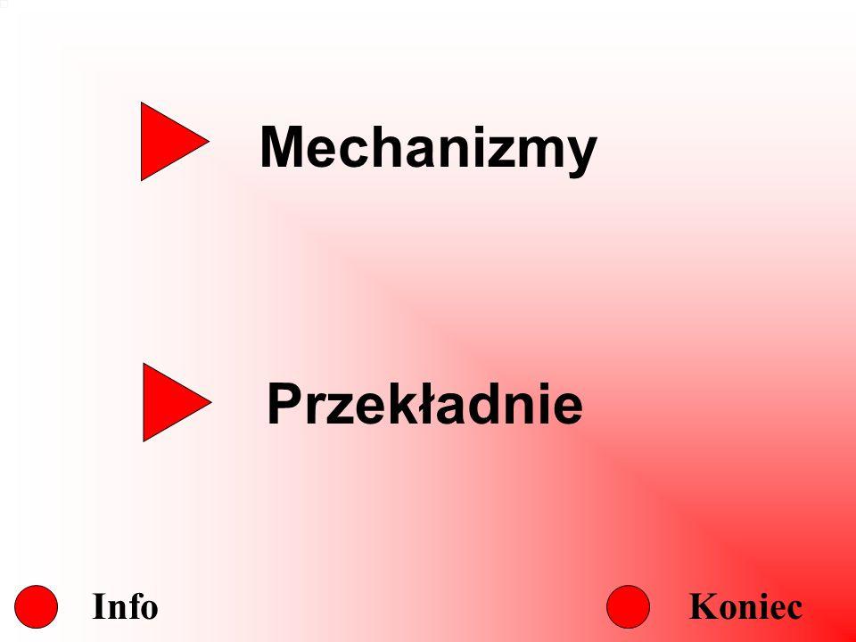 Mechanizmy Przekładnie Info Koniec